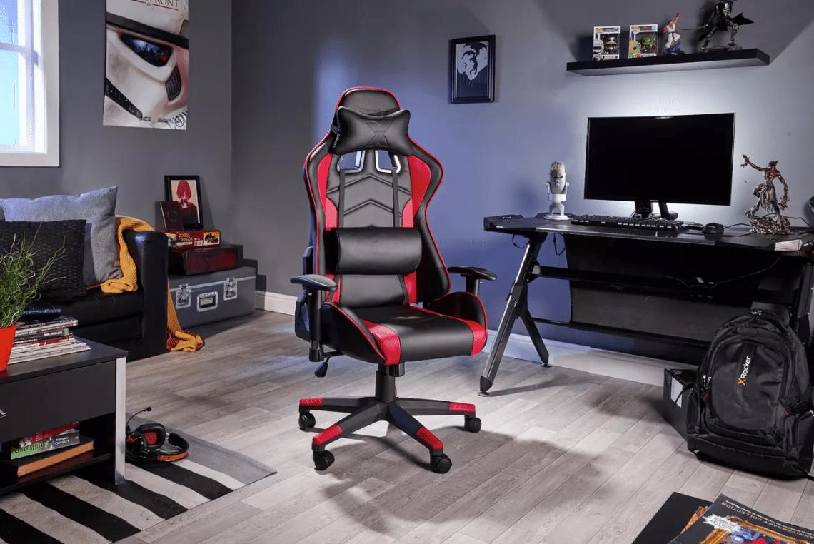 X Rocker Alpha eSports Ergonomic Office Gaming Chair