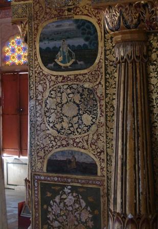 Interiors at Mehrangarh Fort