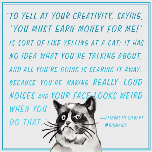 On creativity and money