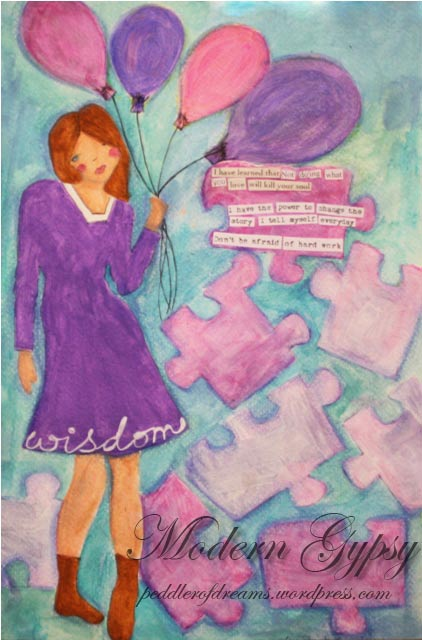 art-journal-layout-wisdom-baloon