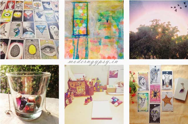 Some of the photographs on my Instagram account from the mindful break project