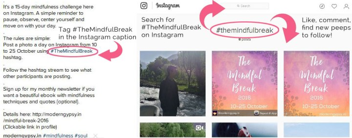 mindful-break-instagram-challenge-hashtag-caption-search