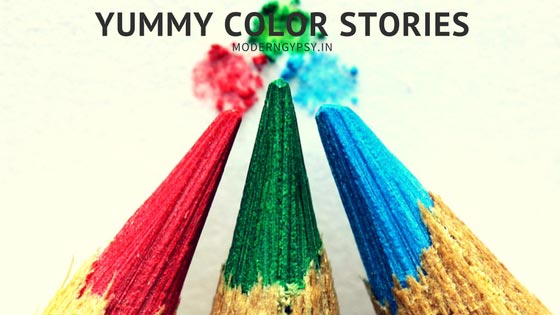 yummy color stories color associations