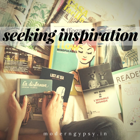 seeking inspiration when you have no words
