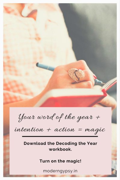 Intention plus action equals magic! Decoding the year ahead