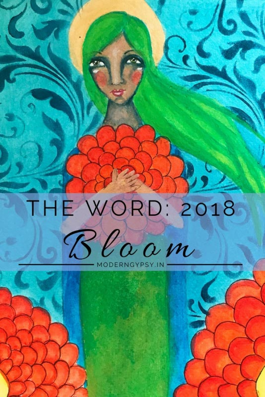 Word of the year 2018 Bloom