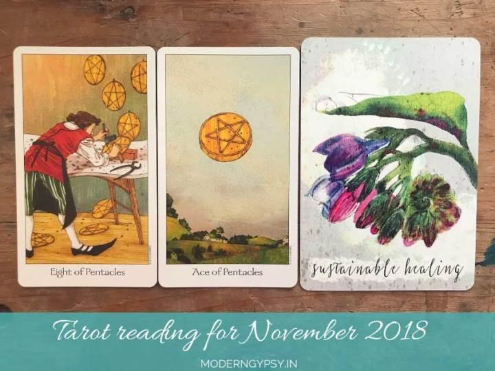 Tarot reading for November 2018