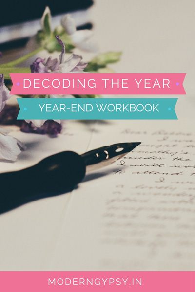 Looking for some year-end reflection and planning? Download the Decoding the Year workbook and make some magic in 2019!