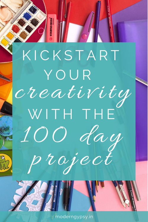 How the 100 day project can help you to kick start your creativity, along with some ideas for your own 100 day project!