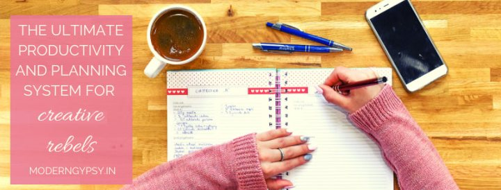 ultimate productivity and planning system for creative rebels