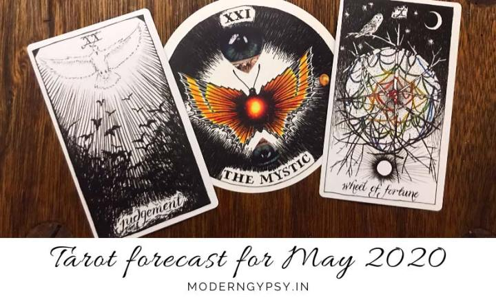 Tarot and energy forecast for May 2020