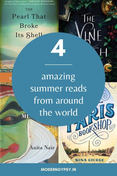 4 amazing summer reads from around the world!