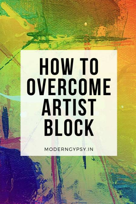 My top tips to help you overcome artist block + a look at creative cycles and fallow periods in art