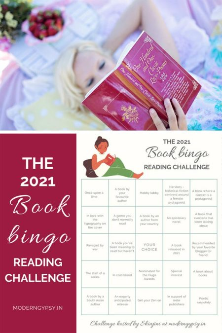 Join the book bingo 2021 reading challenge + community