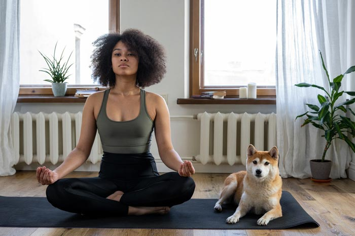productivity tips for artists and creatives morning yoga