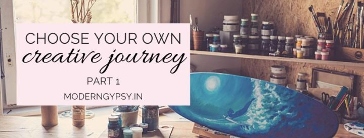 Choose your own creative journey