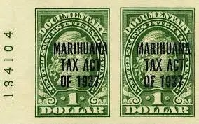 Marijuana Tax Act 1937