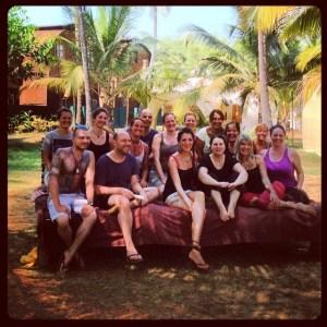 Bin ich schon erleuchtet? Yoga Retreat in Goa, Indien