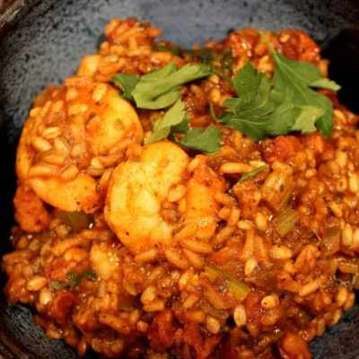 Simple and Spicy Jambalaya for Mardi Gras