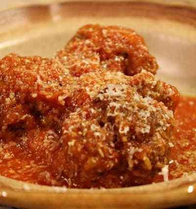 Meatballs in Sweet Pepper Sauce