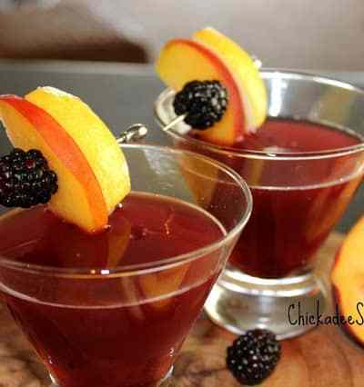 Blackberry-Peach Bourbon
