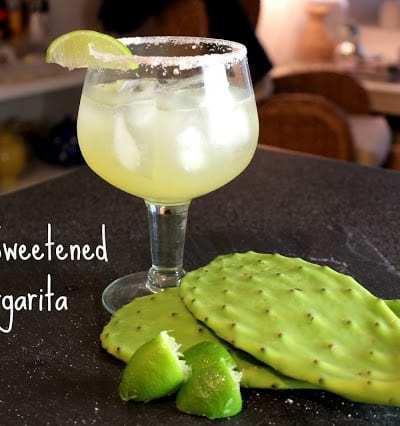 Agave Sweetened Margarita
