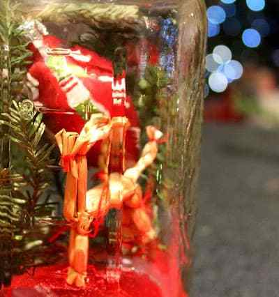 Christmas Tree in a Jar