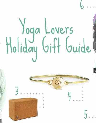 Yoga Lovers Holiday Gift Guide