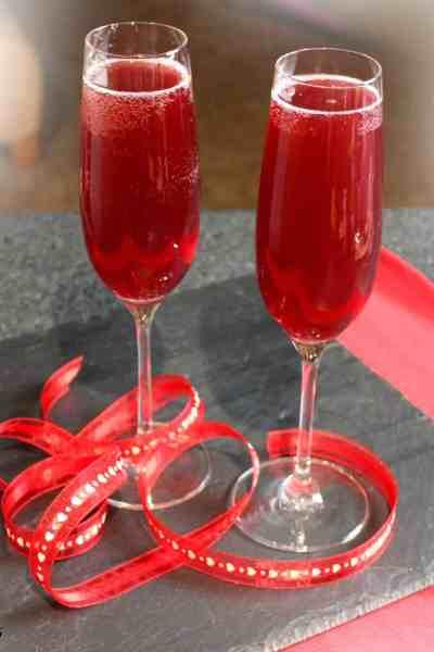 Spiked Pomegranate Cream Soda