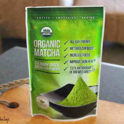 Kiss Me Organics Matcha Green Tea: Two Ways