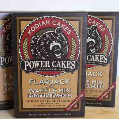 One Step Protein Flapjacks: Kodiak Cakes Review & Giveaway!