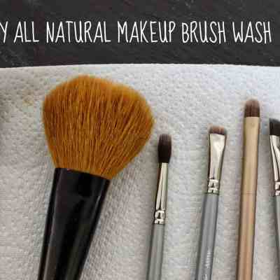 Do It Yourself: All Natural Makeup Brush Wash