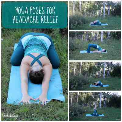 Yoga Poses For Headache Relief
