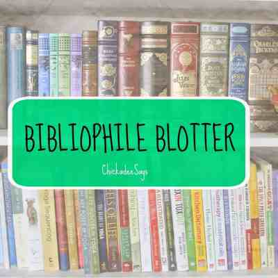 Currently Reading: A Bibliophile Blotter