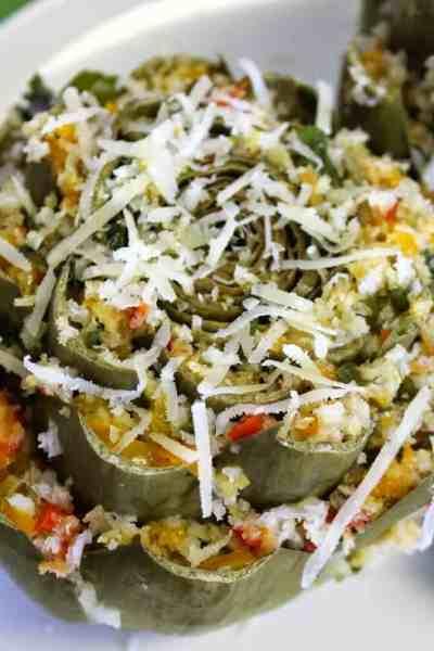 Pepper Stuffed Artichokes Recipe Meatless Monday