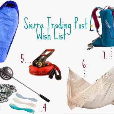 Sierra Trading Post Warm Weather Wish List