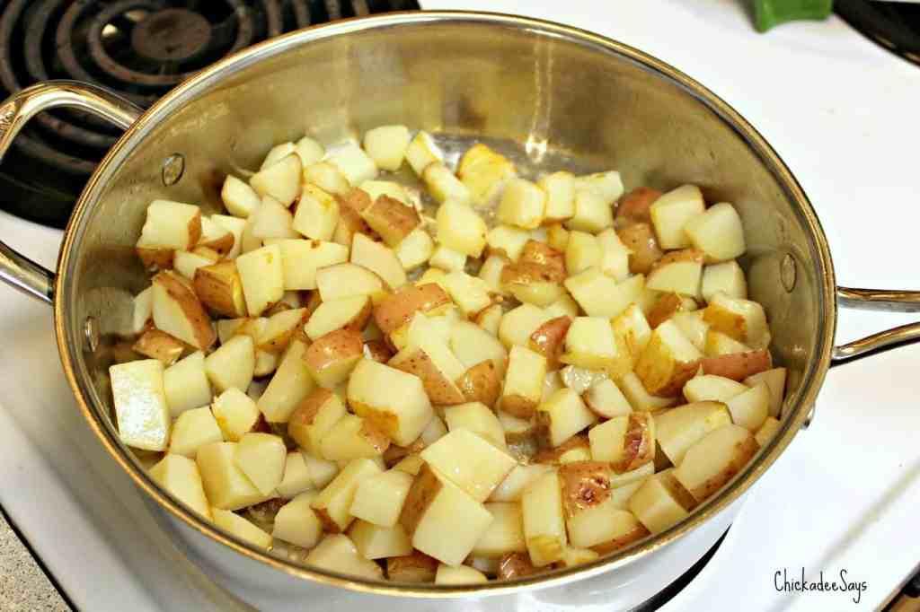 Vegan Garden Fresh Breakfast Potatoes
