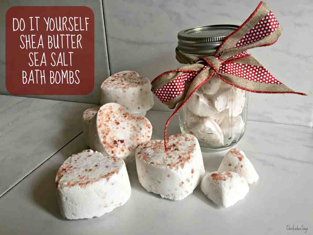 DIY Bath Bomb Recipe with Text