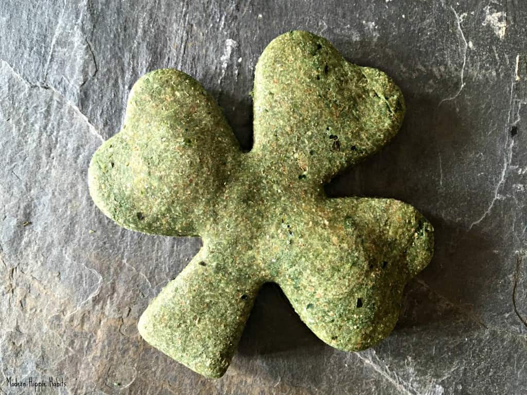 St Patrick's Day Dog Treats Recipe Shamrock