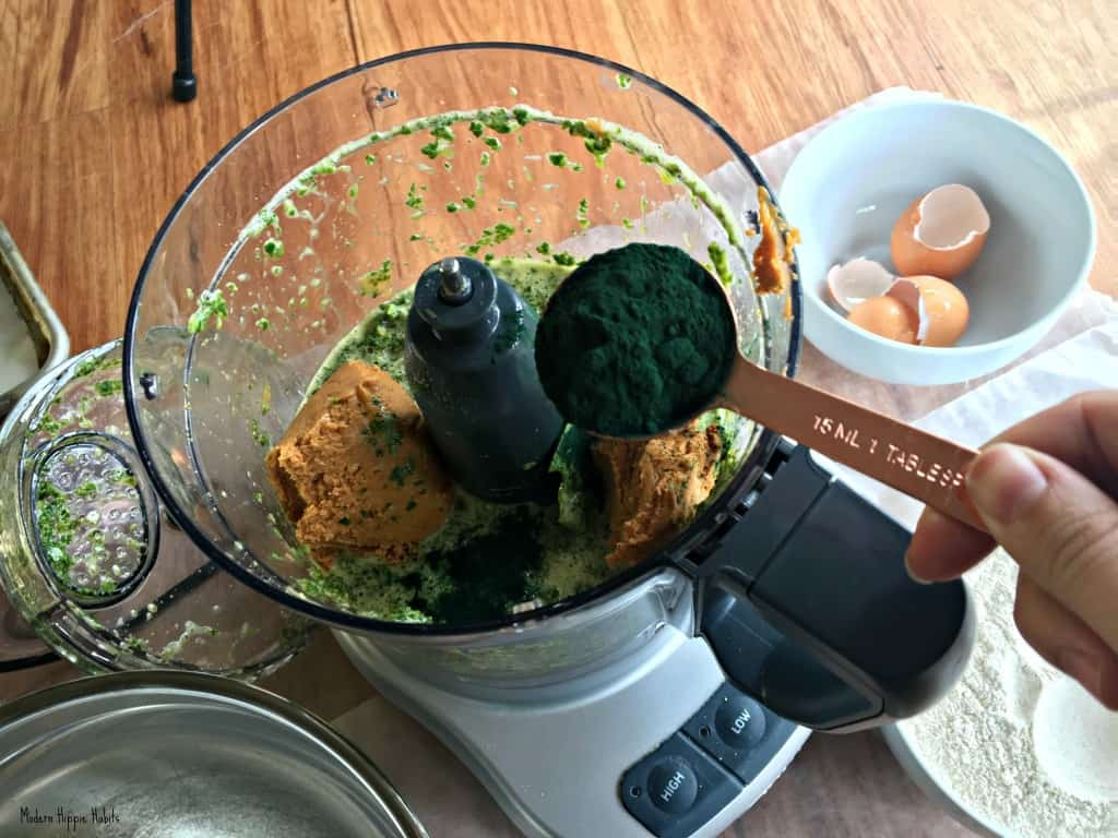 St. Patrick's Day Dog Treat Recipe Spirulina