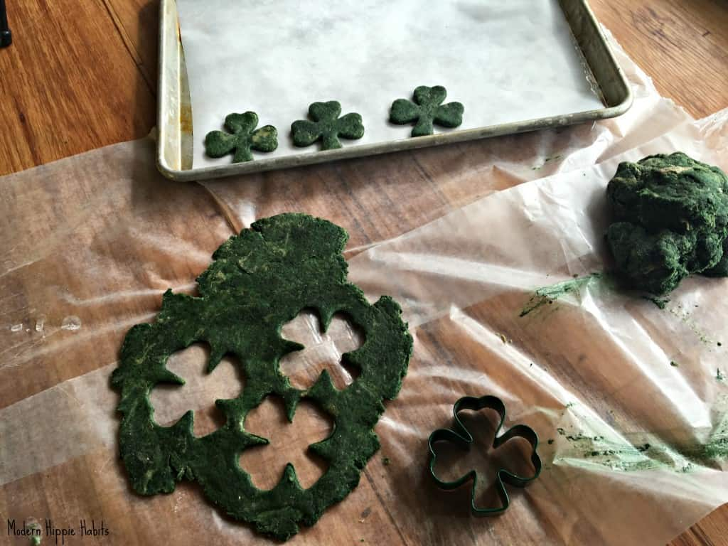 St. Patrick's Day Dog Treats Cookie Cutter