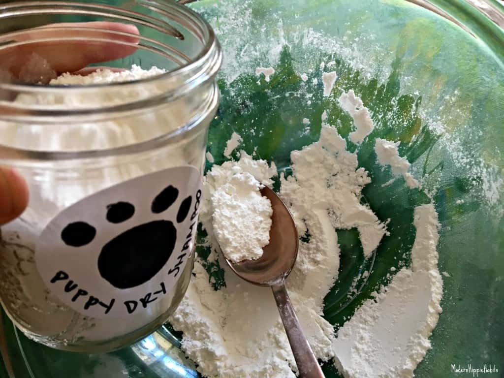 DIY Dry Shampoo for Dogs