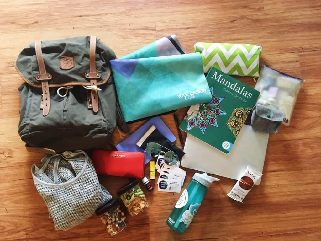 Healthy Travel Bag