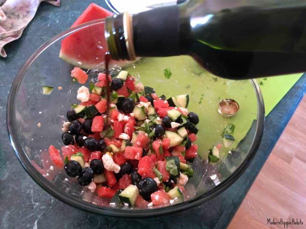 Refreshing Summer Salad Balsamic