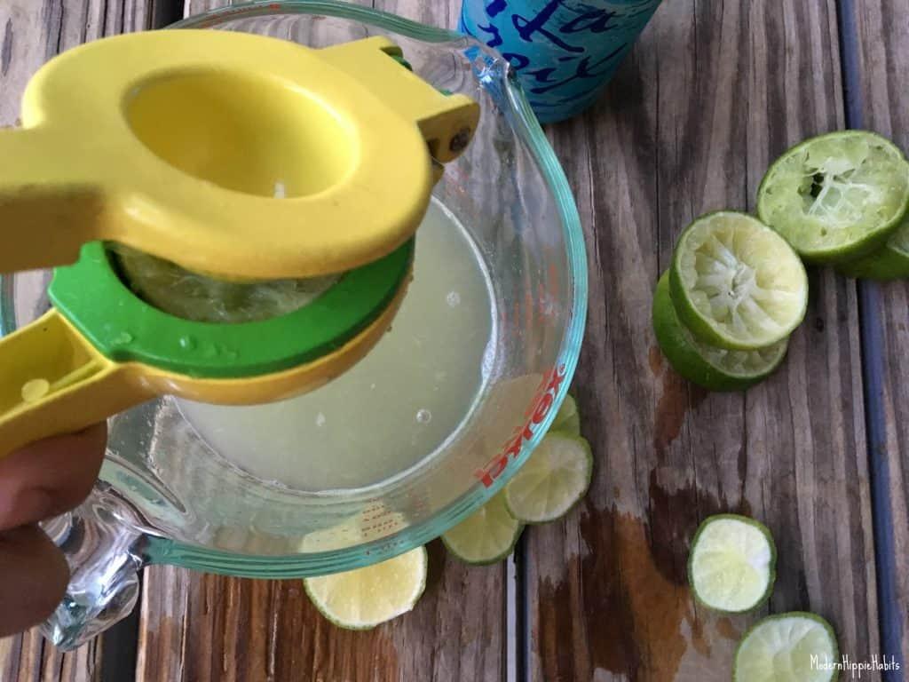Peach Tequila Spritzer Cocktail Recipe