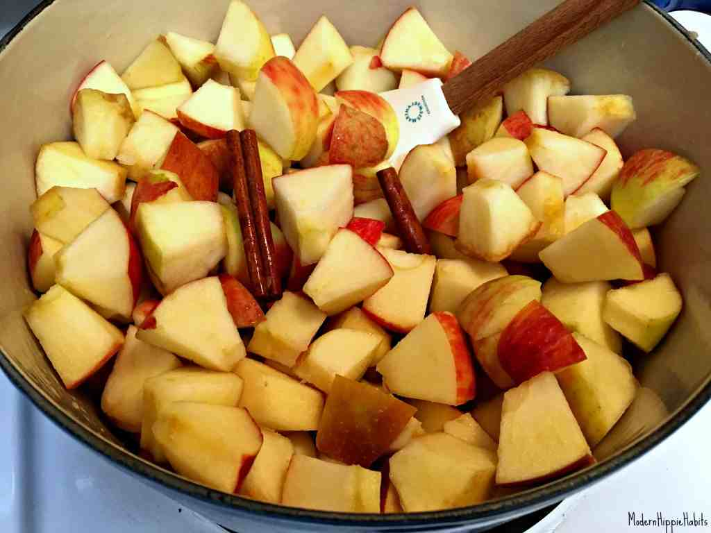 Cinnamon Sage Applesauce