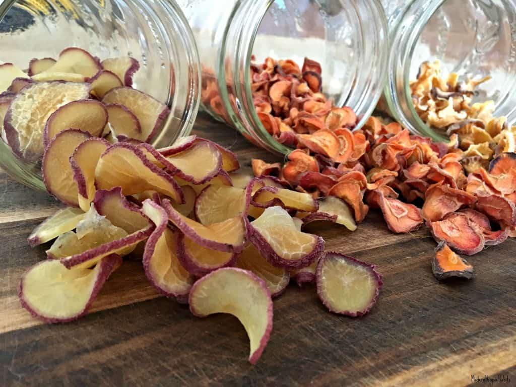 Dehydrator Basics Root Vegetables