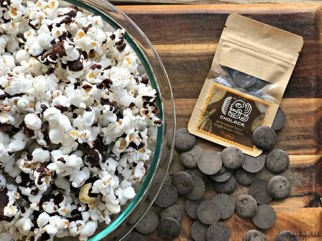 Salted Pure Cacao Popcorn