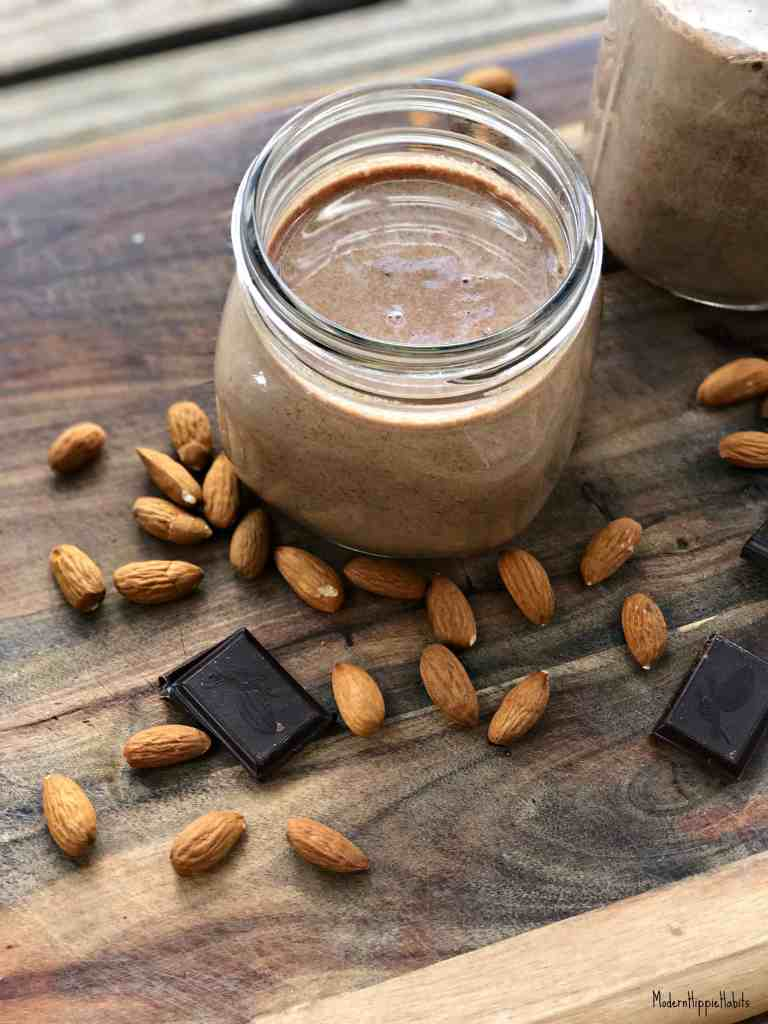 DIY Vegan Chocolate Almond Milk