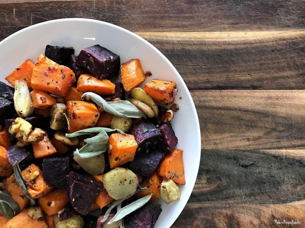 Simple Roasted Root Vegetables